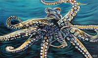 Wild Octopus II Fine Art Print