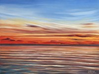Tranquil Sky II Framed Print