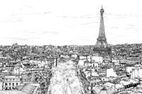 Tour of Europe I Framed Print