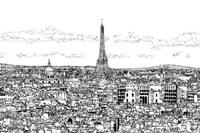 Tour of Europe II Framed Print