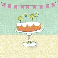 Retro Birthday I Fine Art Print