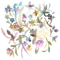 Concord Florals I Framed Print