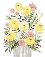 Blush Bouquet I Framed Print