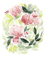 Buoyant Bouquet I Framed Print