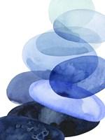 River Worn Pebbles I Framed Print