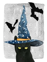 Black Cat II Framed Print