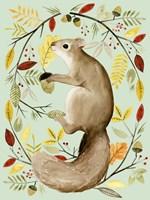 Autumn Wreath I Fine Art Print