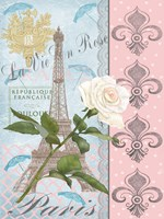 La Vie en Rose I Fine Art Print