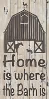 Home & Farm I Framed Print
