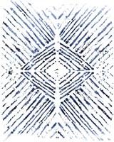 Indigo Ink Motif VI Fine Art Print