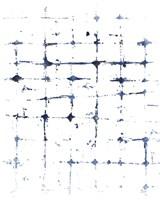 Indigo Ink Motif VII Fine Art Print