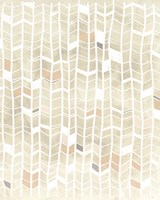 Pattern Intersect I Framed Print
