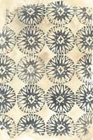 Ancient Textile II Framed Print