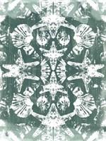 Sea Green Kaleidoscope I Framed Print
