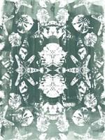 Sea Green Kaleidoscope II Framed Print