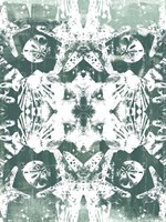 Sea Green Kaleidoscope III Framed Print