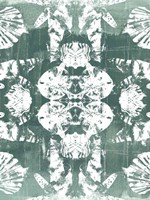 Sea Green Kaleidoscope IV Framed Print