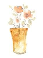 Blossom Pop Study I Framed Print