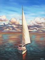 Sunset Cruise II Framed Print