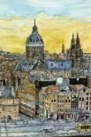 European Afternoon V Fine Art Print