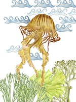 Undersea Creatures IV Framed Print