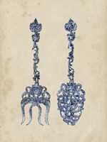 Antique Utensils I Fine Art Print
