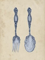 Antique Utensils II Fine Art Print