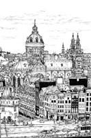 Tour of Europe V Framed Print