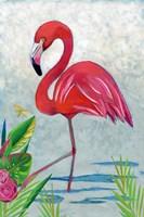 Vivid Flamingo I Fine Art Print