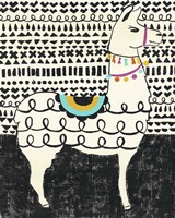 Party Llama I Fine Art Print