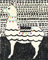 Party Llama II Fine Art Print