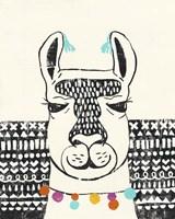 Party Llama III Fine Art Print