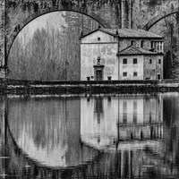 Symettry BW Fine Art Print