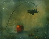 The Red Apple Fine Art Print
