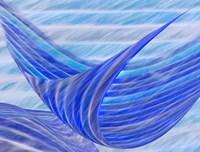 Blue Motion Fine Art Print
