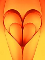 The Bounded Hearts Fine Art Print
