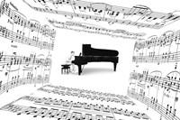 Piano Player Fine Art Print