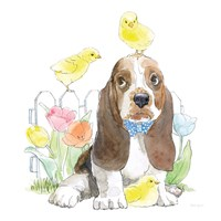 Easter Pups V Fine Art Print