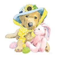 Easter Pups VI Framed Print