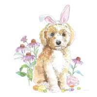 Easter Pups IV Fine Art Print