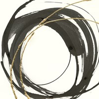 Gilded Enso IV Fine Art Print