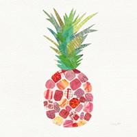 Tropical Fun Pineapple I Fine Art Print