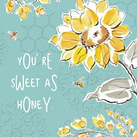 Bee Happy III Fine Art Print