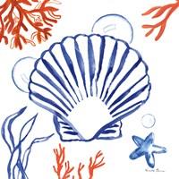 Coastal Jewels III Fine Art Print