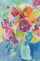 Matisse Florals Pastel Crop Fine Art Print