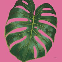 Welcome to Paradise XIII on Pink Fine Art Print