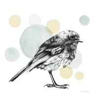 Sketchbook Lodge Bird Neutral Fine Art Print