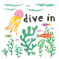 Ocean Splash III Fine Art Print