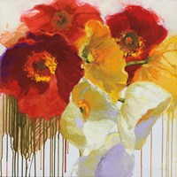Red and Yellow Sensations Fine Art Print