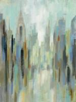 New York Morning I Framed Print